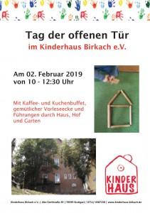 Tag der offenen Tür - Kinderhaus Birkach e.V.